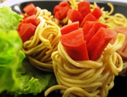 Resep Sosis Gulung Mie